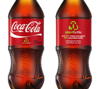 Coca-Cola Company Accelerates Global Production of Plastic Packaging Made from Plants