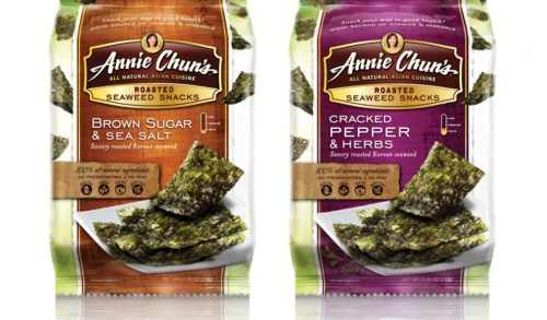 Annie Chun's Introduces New Flavors of Healthy Seaweed Snacks