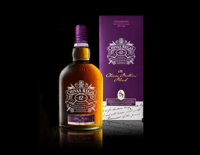 Coley Porter Bell Creates New Member of Chivas Regal Family