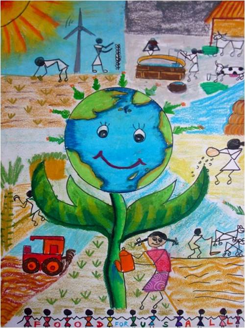 World Food Day Poster Design Competition – The Winners!