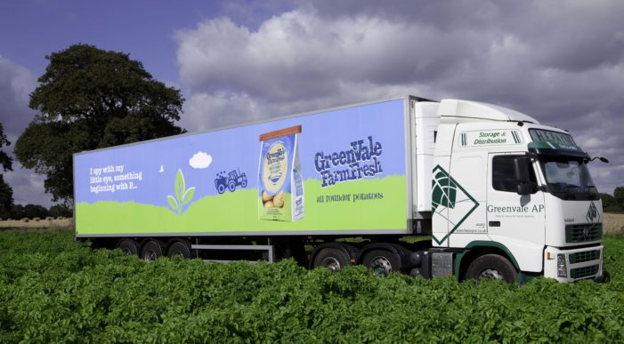 Increased distribution following successful launch of GreenVale Farm Fresh Potatoes