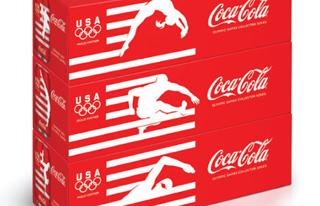 Turner Duckworth's designs for Coca Cola – Summer Olympics 2012