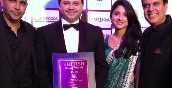 Chakra wins 'Best Newcomer' at British Curry Awards 2012