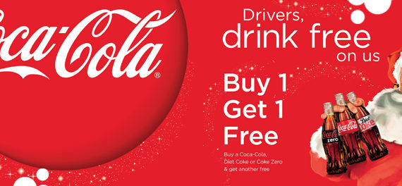 Coca Cola Designated Driver Campaign Calls For A Safe And Happy Christmas