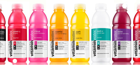 Glacéau Vitaminwater Relaunches This Winter
