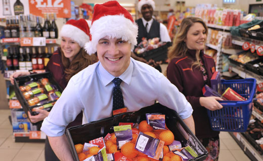 Sainsbury's gear up for the festive frenzy