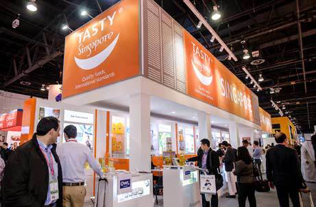 Singaporean food & beverage companies showcase 'Best in Asia' at Gulfood 2013