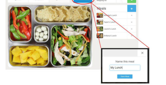 """PlanetBox Introduces the """"Plan-It-Box"""" Meal Planner"""