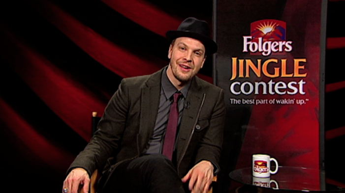 Gavin DeGraw Launches Third Annual Folgers Jingle Contest