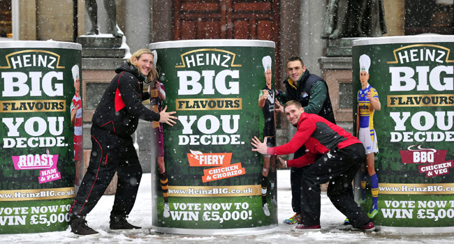 Rugby League Stars Launch New Heinz Big Soup Campaign