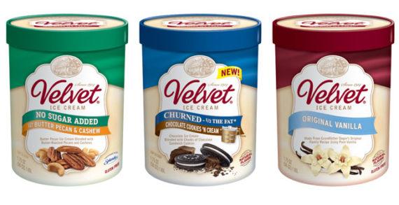 Velvet Ice Cream Unveils Brand-New Look