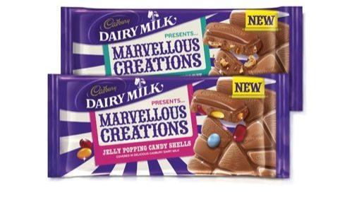 Bulletproof designs packaging for new Cadbury Dairy Milk's Marvellous Creations