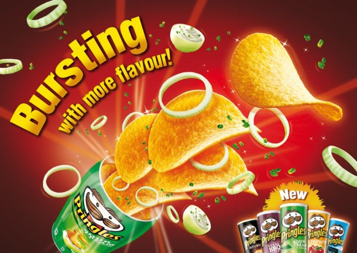 Pringles Secures its Market Share With New Flavours