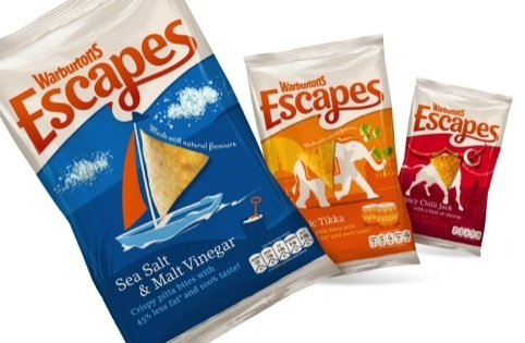 Family and Friends creates New Look For Warburtons' Escapes