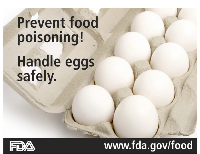 Eggs, Spring and Food Poisoning