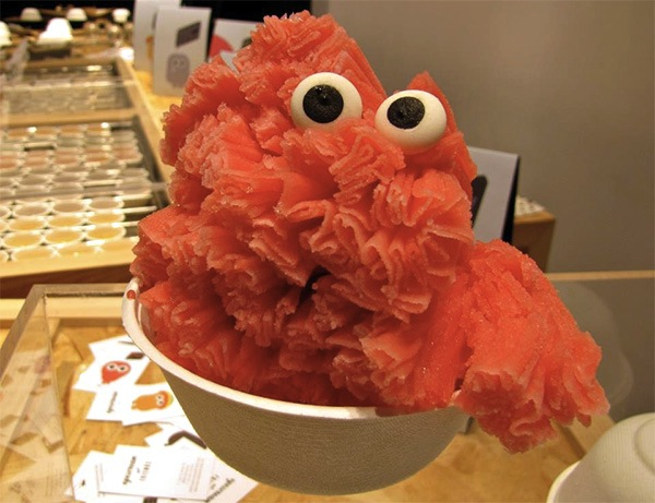 Ice Cream Gets Dressed Up With Googly Eyes