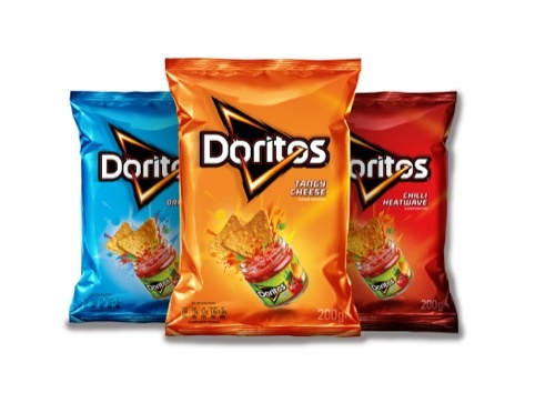 Hornall Anderson Ignites New Doritos Branding