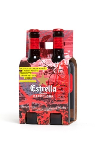 A New Look for Estrella Damm in the UK