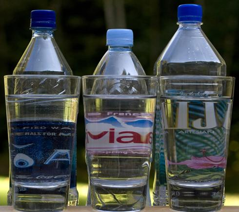 Soda Drinking Fizzles, Bottled Water on the Fast-Track