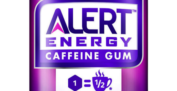 Wrigley Launches Caffeinated Chewing Gum