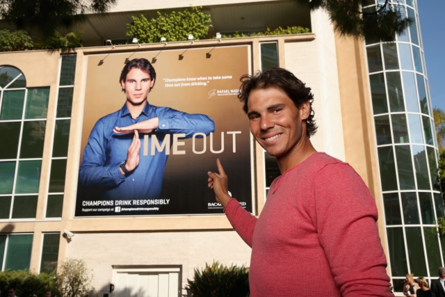 """Bacardi & Rafael Nadal Reveal Top-Secret Venue For """"The Champions' Party"""""""