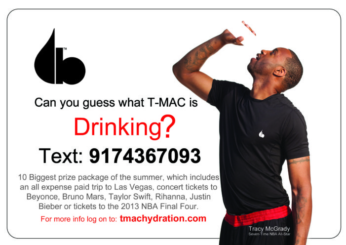 Tracy McGrady Invites Fans To Beat The Heat With Evolution Of Hydration
