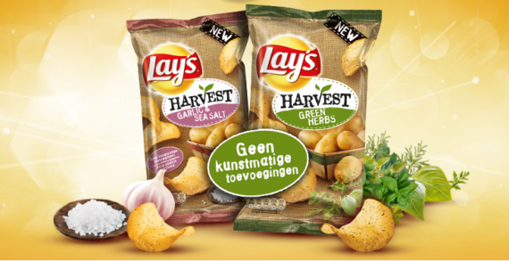 Lay's Wavy Brand Delivers New Roasted Garlic & Sea Salt Flavored Potato Chips