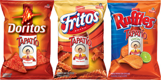 Frito-Lay Introduces Two New Tapatio-Flavoured Snacks