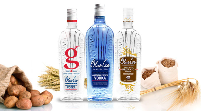 Blue Ice Vodka First Spirit To Carry Gluten Free Package Labeling