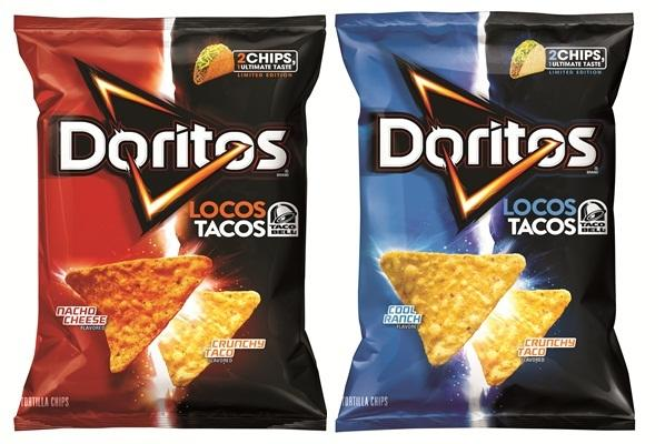 Doritos Locos Tacos Tortilla Chips Hit The Chip Aisle
