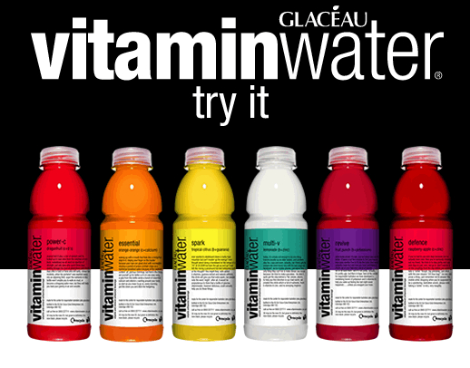 Glacéau Vitamin Water Launches New Sunshine Variant