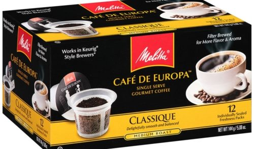 Melitta Debuts Latest in Single-Serve Coffee