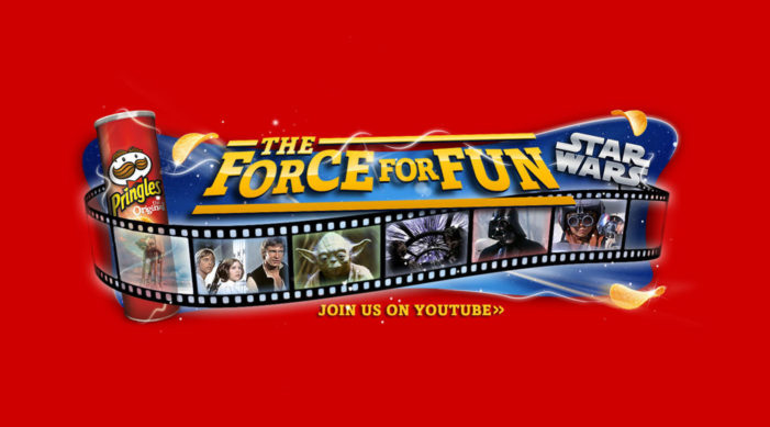 Pringles & Star Wars Reveal Top 7 Fan-Generated Videos From New Promotion