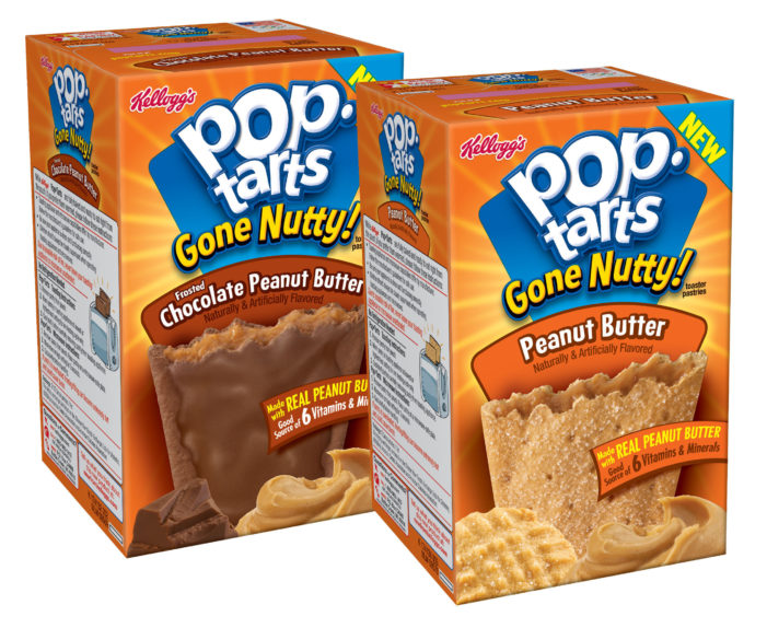 Mornings Have 'Gone Nutty!' With New Pop-Tarts Peanut Butter Flavours