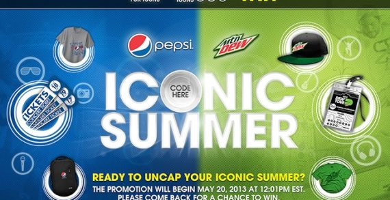 """Pepsi Kick Off An """"Iconic Summer"""" With Prizes & Exclusive Fan Experiences"""