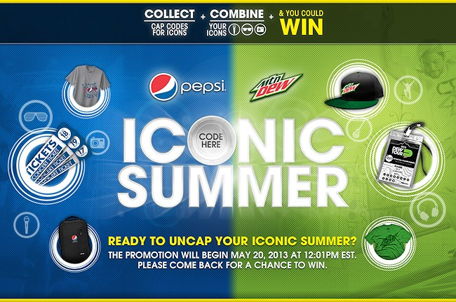"Pepsi Kick Off An ""Iconic Summer"" With Prizes & Exclusive Fan Experiences"