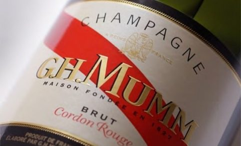 A New Look For G.H Mumm Champagne