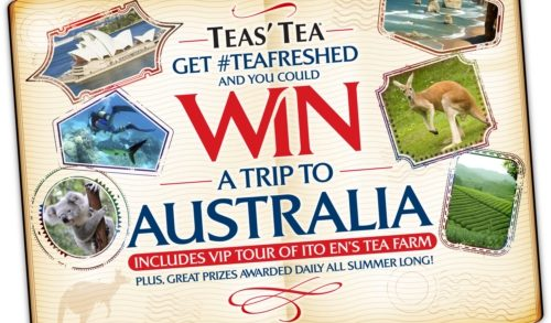 TEAS' TEA To Launch Summer Promotion: Get #TEAFRESHED