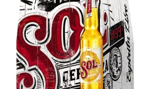 Sol Lager Rolls Out New Look