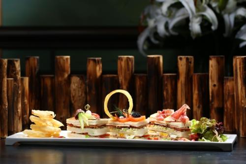 World's Most Luxurious Club Sandwich