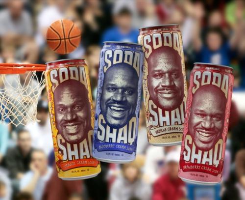 AriZona Beverages introduces Soda Shaq