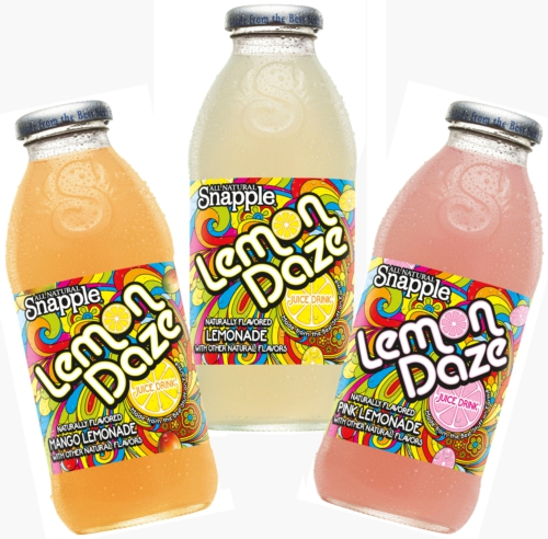 Pucker Up this summer with Snapple Lemon Daze at 7-Eleven