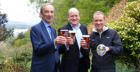 Nurture Lakeland & Jennings Launch 'The Pint That Protects'