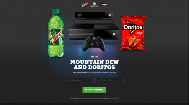 Mountain Dew & Doritos To Offer Microsoft Xbox One In New Promotion