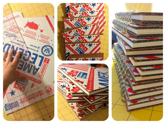 Domino's Upcycles Its Old Logo With The Help Of Artists