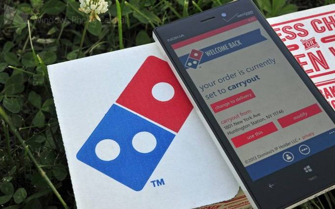 Domino's Launches New Ordering App for Windows Phone 8