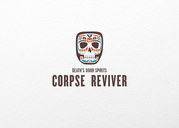 Alcoholic Drinks Creatively Packaged As 'Corpse Revivers'