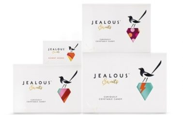 B&B Studio Creates Magpie & Jewel Icons For Jealous Sweets