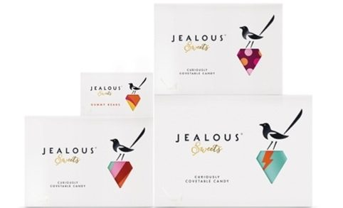 B&B Studio Creates Magpie & Jewel Icons For Jealous Sweets