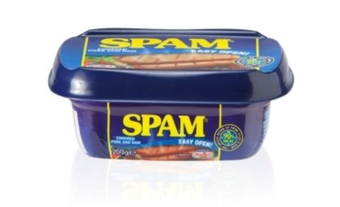 Spam Comes Out Of The Can